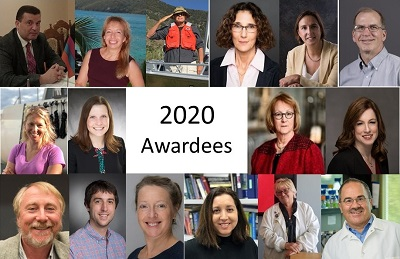 The American Academy of Microbiology is pleased to recognize the 2020 Award Laureates.