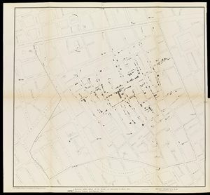 A map taken from a report by Dr. John Snow Wellcome L0072917