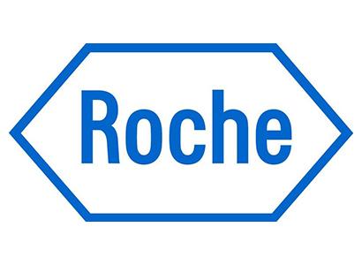 Roche logo.