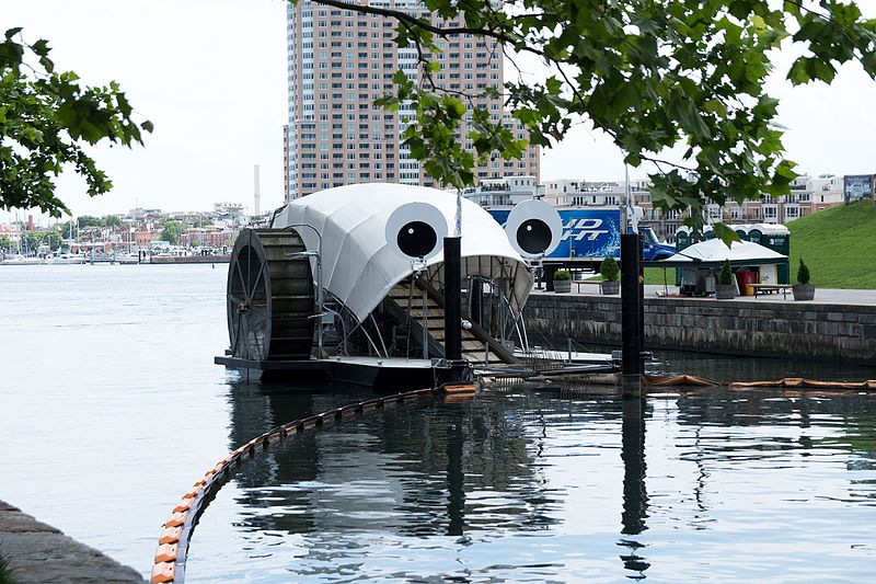 Mr. Trash Wheel. By: Matthew Bellemare