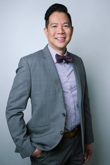 Dr. Anthony Tran of the District of Columbia Public Health Laboratory.