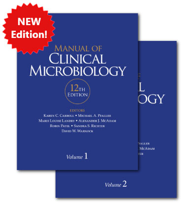 Equip your lab with the new Manual of Clinical Microbiology!